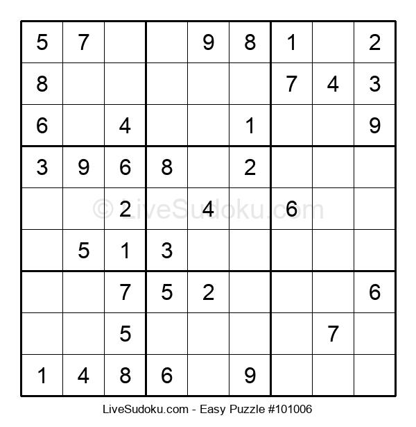 Beginners Puzzle #101006