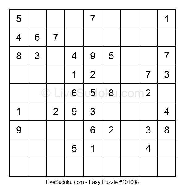 Beginners Puzzle #101008