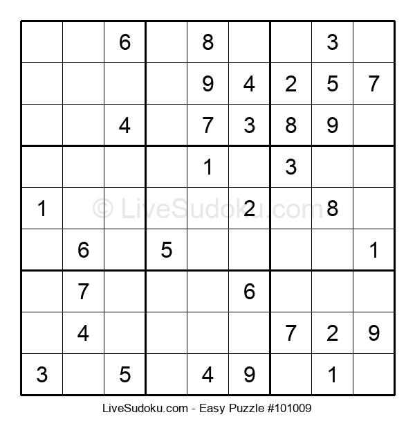 Beginners Puzzle #101009