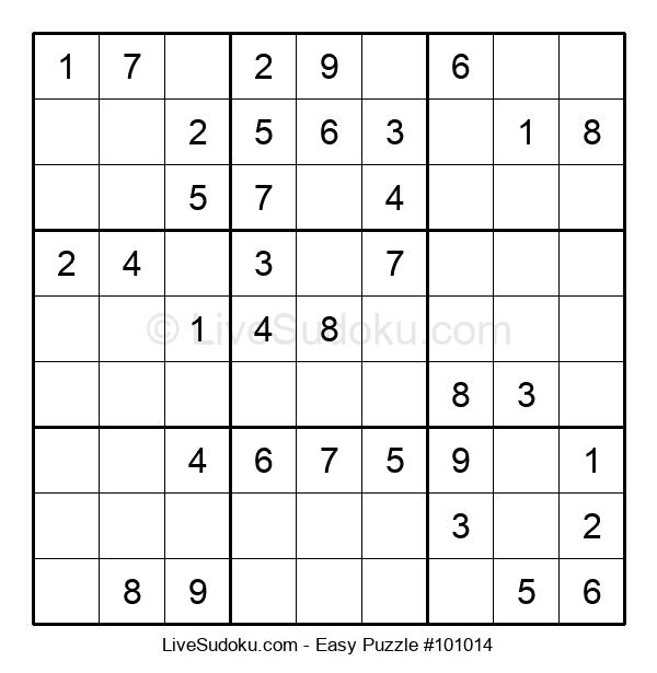 Beginners Puzzle #101014