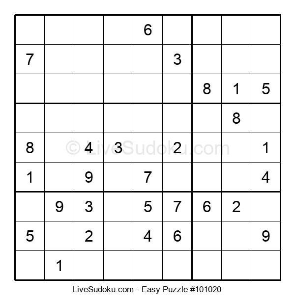 Beginners Puzzle #101020