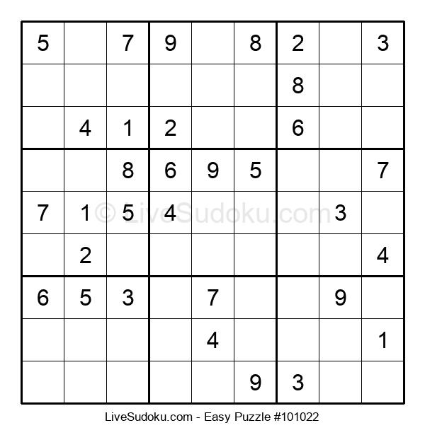 Beginners Puzzle #101022