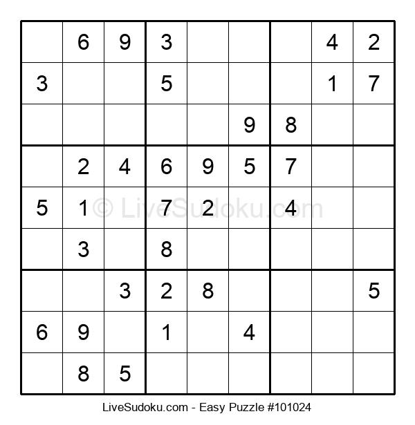 Beginners Puzzle #101024