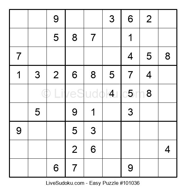Beginners Puzzle #101036