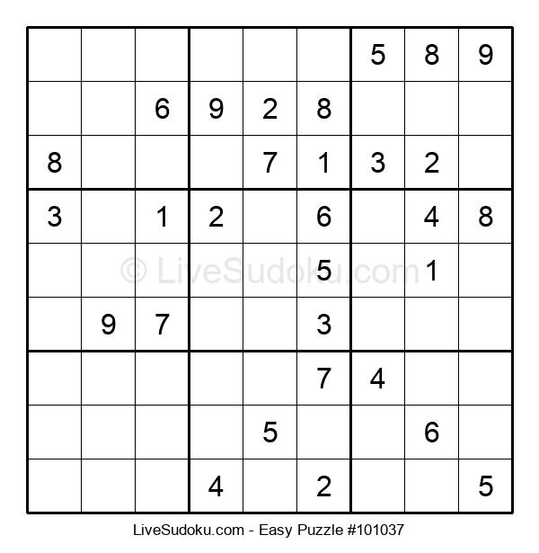 Beginners Puzzle #101037