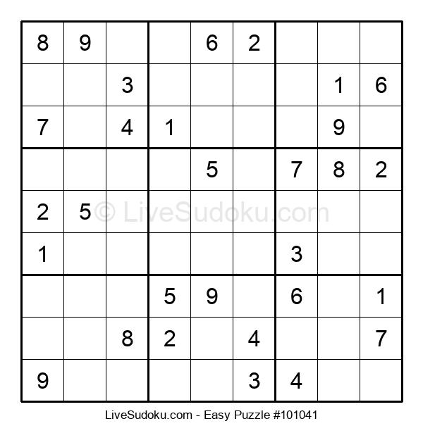 Beginners Puzzle #101041
