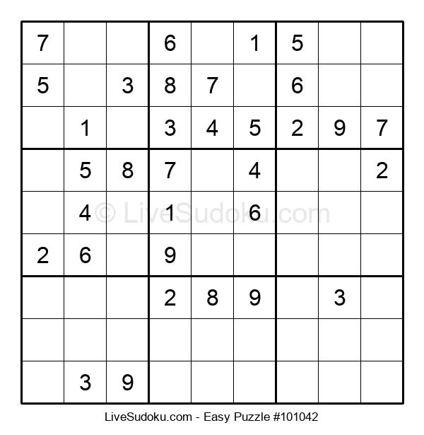 Beginners Puzzle #101042