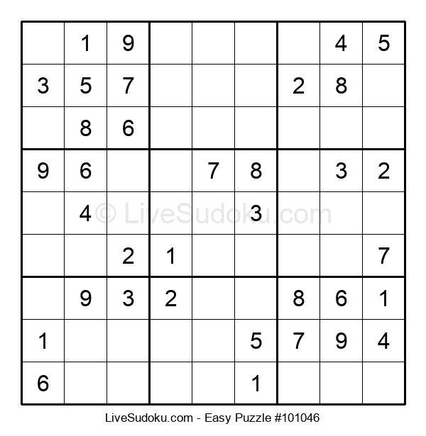 Beginners Puzzle #101046
