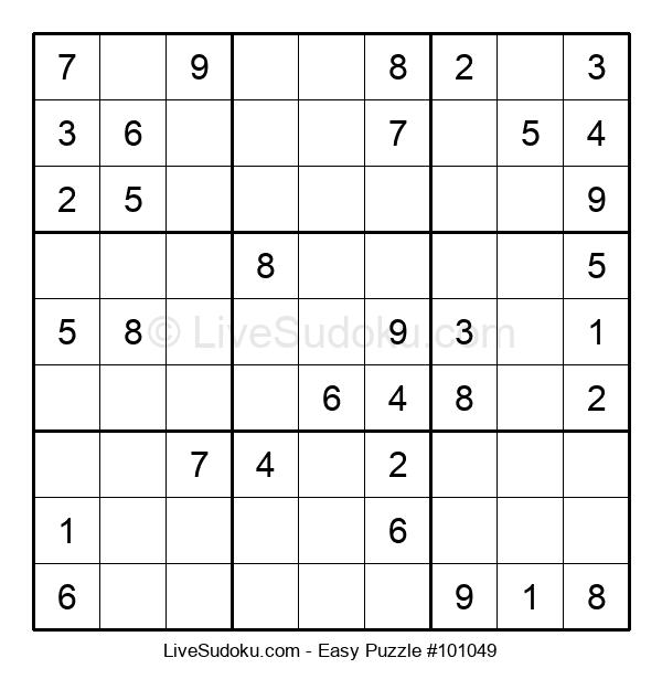 Beginners Puzzle #101049