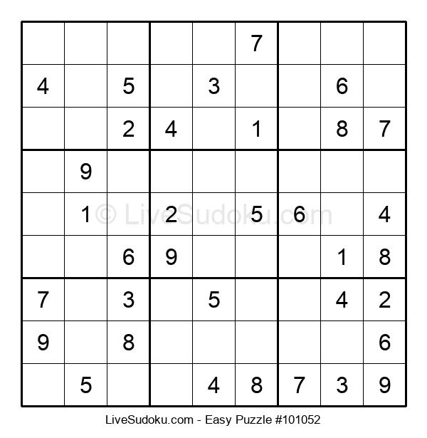 Beginners Puzzle #101052
