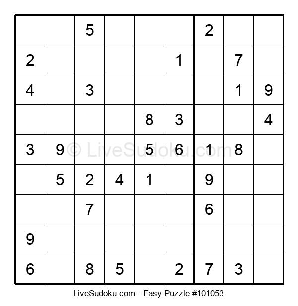 Beginners Puzzle #101053