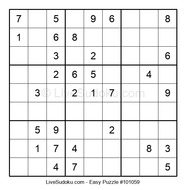 Beginners Puzzle #101059