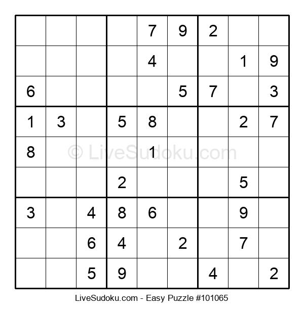 Beginners Puzzle #101065
