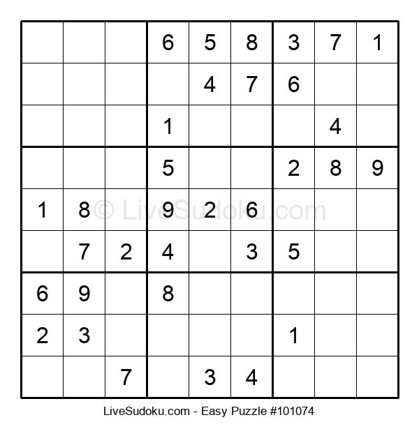 Beginners Puzzle #101074