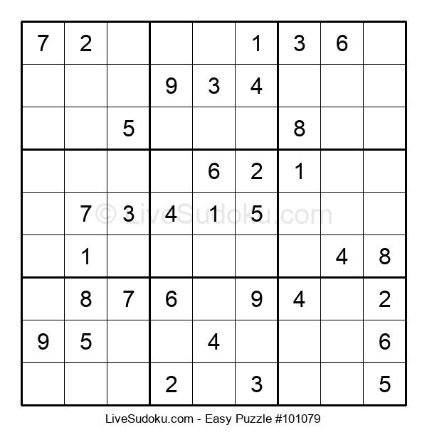 Beginners Puzzle #101079