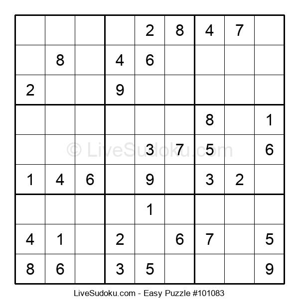 Beginners Puzzle #101083