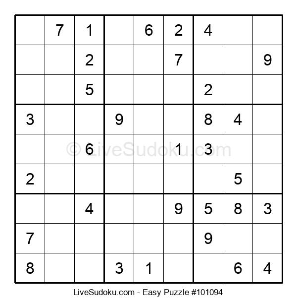 Beginners Puzzle #101094
