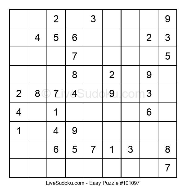 Beginners Puzzle #101097