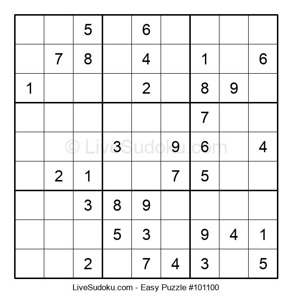 Beginners Puzzle #101100