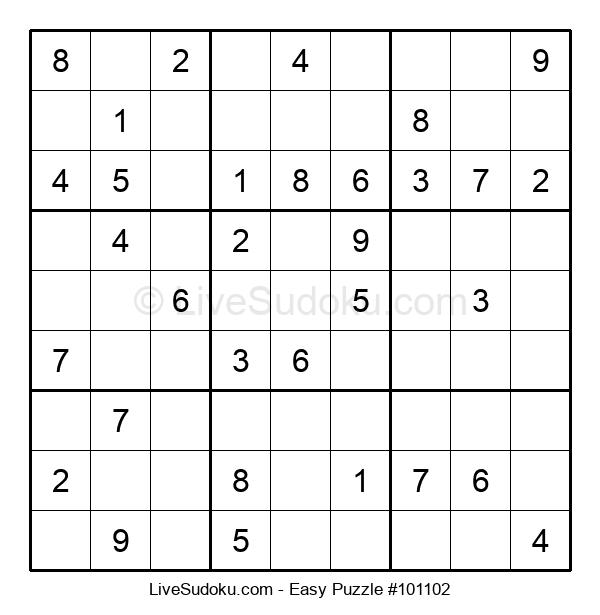 Beginners Puzzle #101102