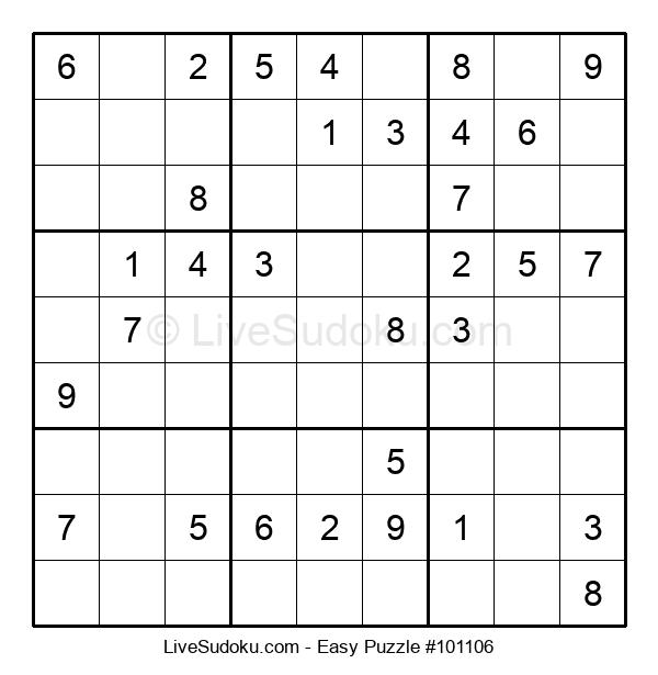 Beginners Puzzle #101106