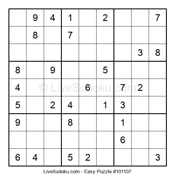 Beginners Puzzle #101107