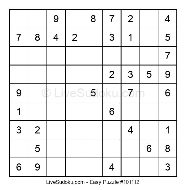 Beginners Puzzle #101112