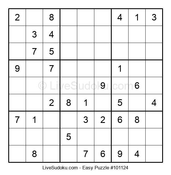 Beginners Puzzle #101124