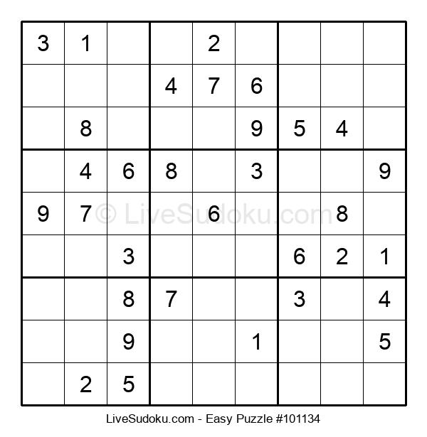 Beginners Puzzle #101134
