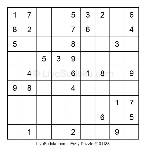Beginners Puzzle #101138