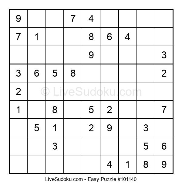 Beginners Puzzle #101140