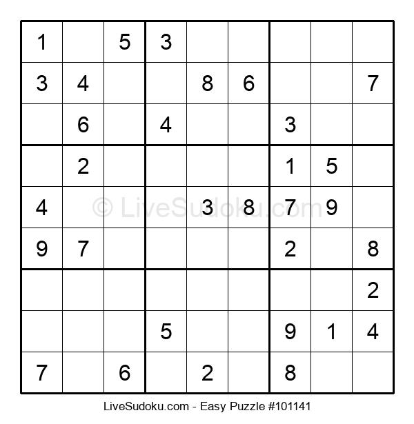 Beginners Puzzle #101141