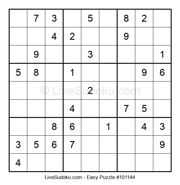 Beginners Puzzle #101144