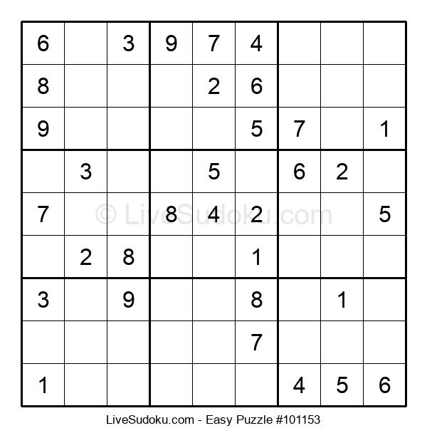 Beginners Puzzle #101153