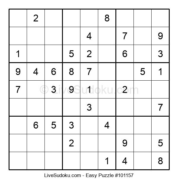 Beginners Puzzle #101157