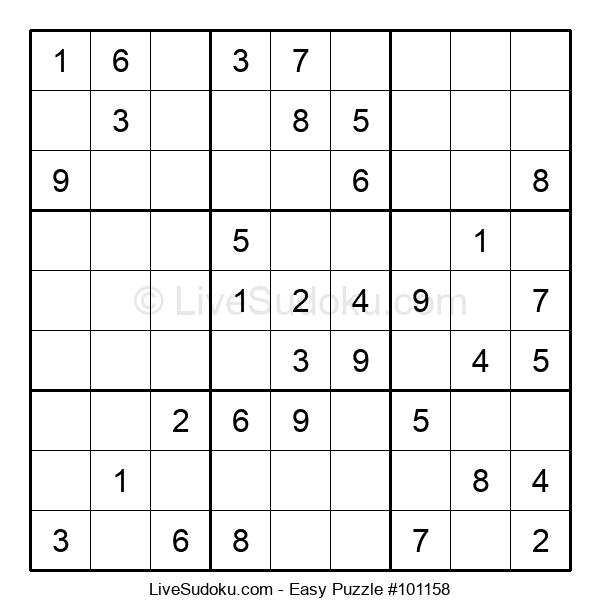 Beginners Puzzle #101158