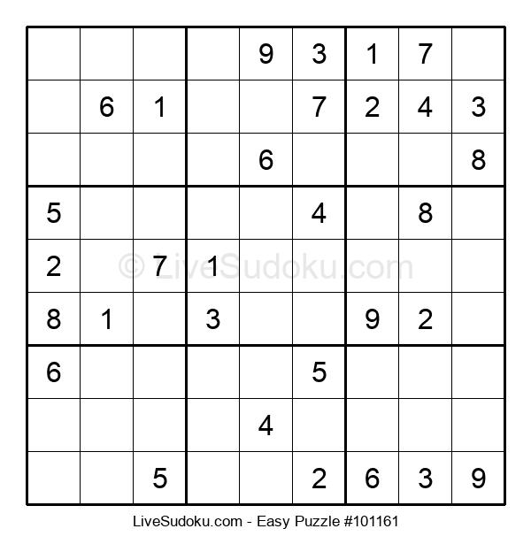 Beginners Puzzle #101161