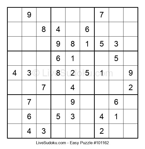 Beginners Puzzle #101162