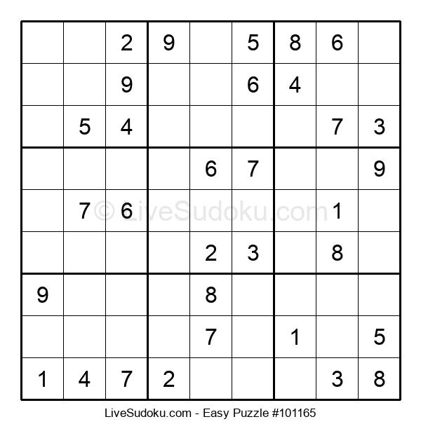 Beginners Puzzle #101165