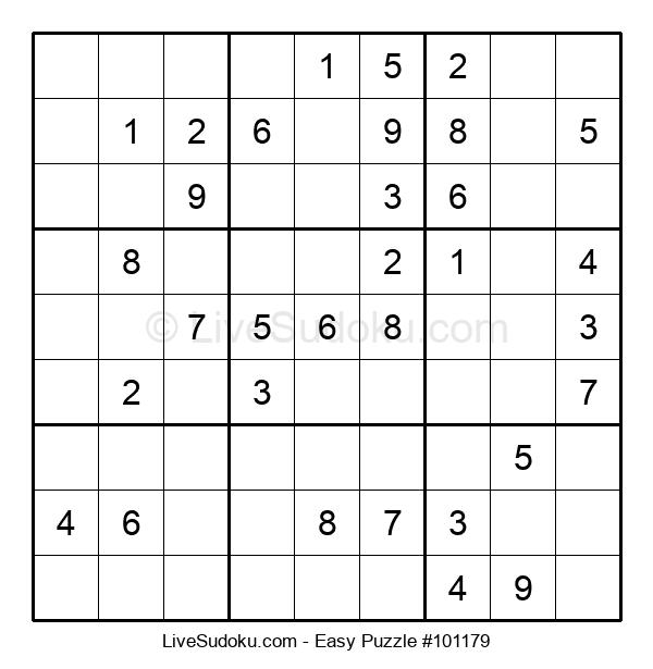 Beginners Puzzle #101179