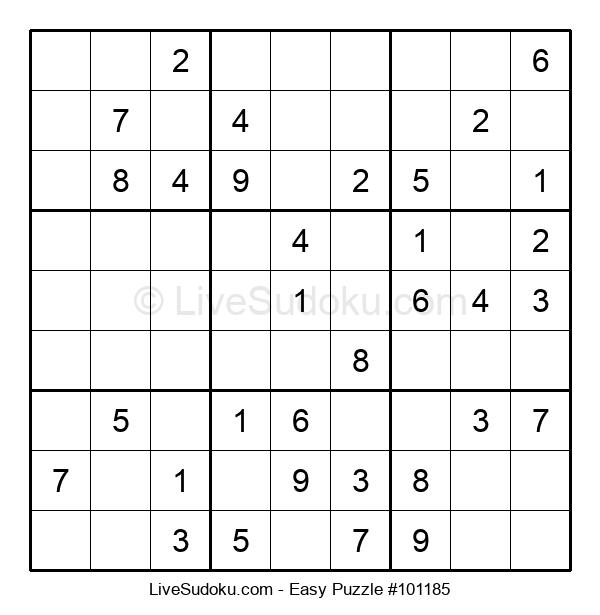 Beginners Puzzle #101185