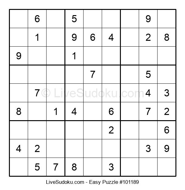 Beginners Puzzle #101189