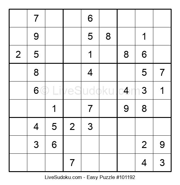 Beginners Puzzle #101192