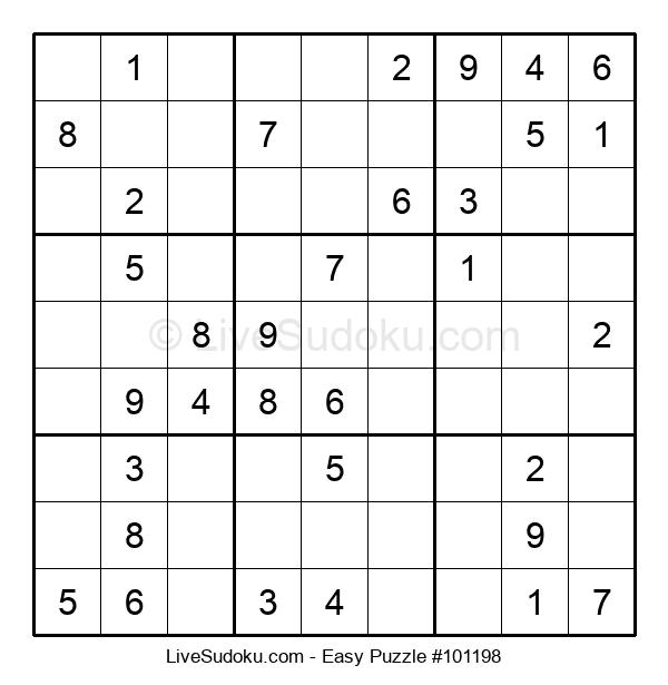 Beginners Puzzle #101198