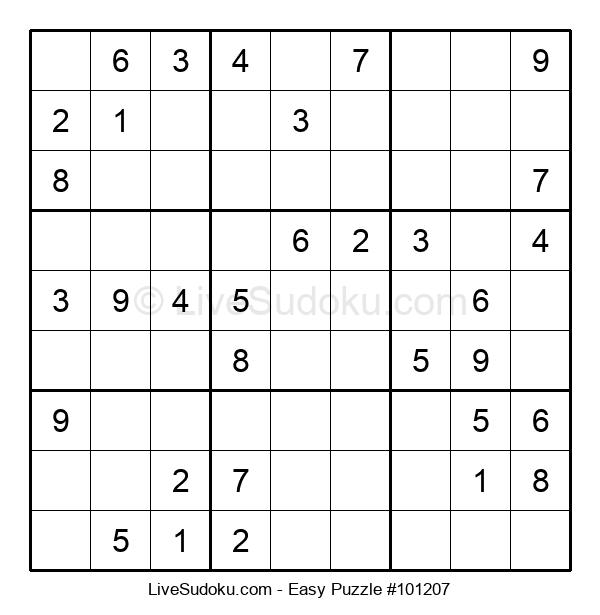Beginners Puzzle #101207