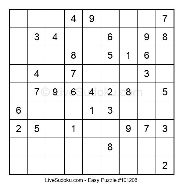 Beginners Puzzle #101208