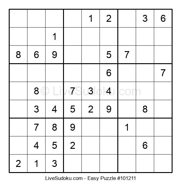 Beginners Puzzle #101211