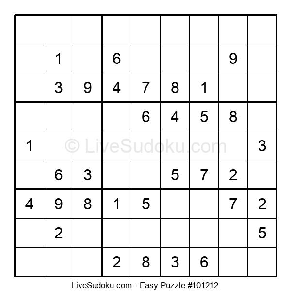 Beginners Puzzle #101212