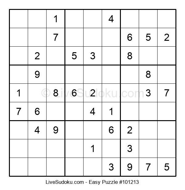 Beginners Puzzle #101213