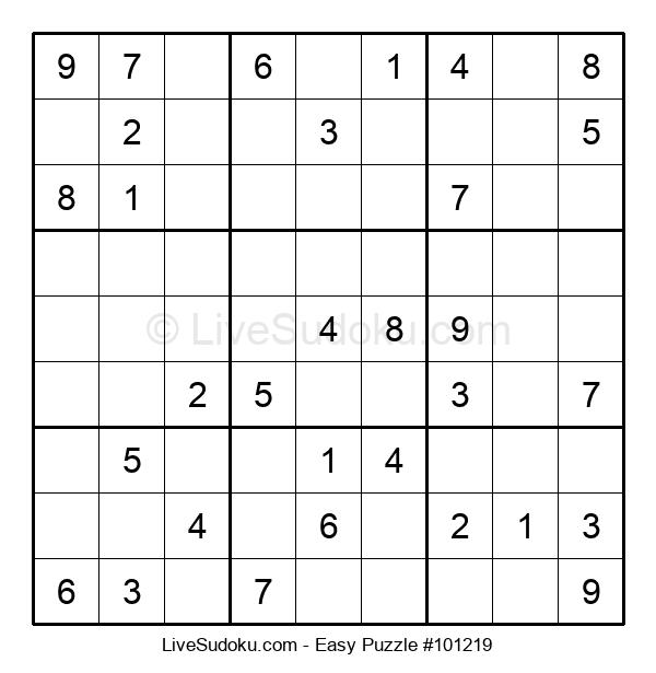 Beginners Puzzle #101219